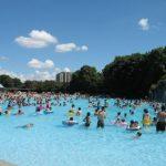 昭和記念公園のレインボープール、一番便利な駐車場はどこ?