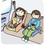 子供の靴がシートに…車のシート汚れは市販の洗剤でキレイに落ちる!