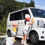 【洗車グッズ】洗車でも足が全く濡れない携帯長靴がメチャクチャ便利!