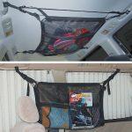 マルチネットを使って車内の天井スペースを有効利用!