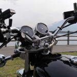 バイクに時計がついてると何かと便利、って話。